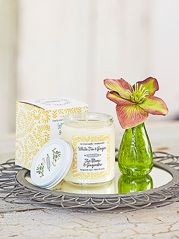 White Tea & Ginger Soy Candle