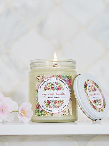 Honeysuckle Soy Jar Candle