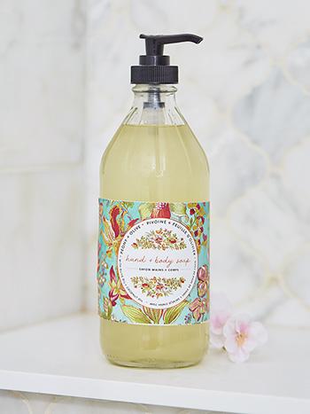 Peony & Olive Liquid Soap
