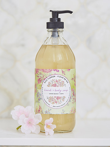 Rice Flower Liquid Soap