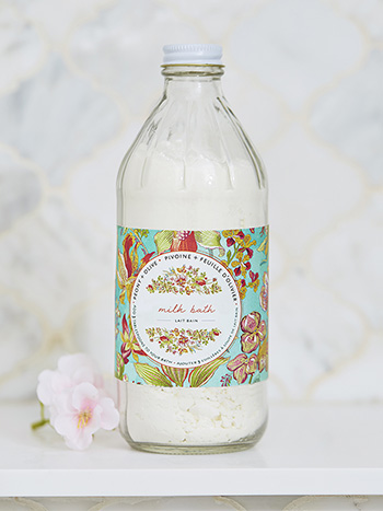 Peony & Olive Bottled Bath Milk