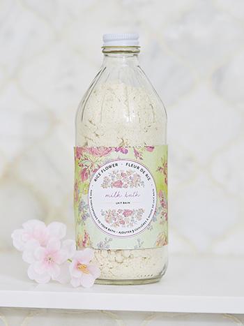 Rice Flower Bottled Bath Milk