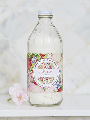 Honeysuckle Bottled Bath Milk