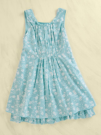 Daisy Toss Girls Dress