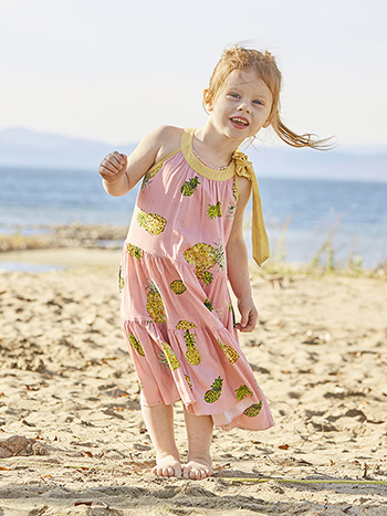 Pineapple Girls Dress