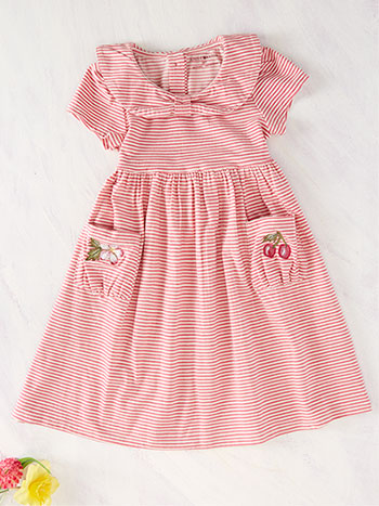Sorbet Stripe Girls Dress