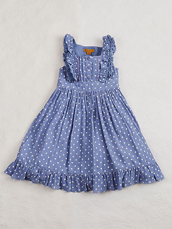 Polly's Polka Dot Girls Dress