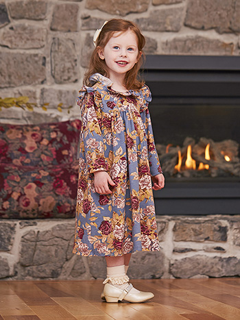 Rose Manor Girls Dress