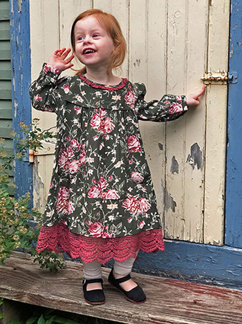 Viola Rose Girls Dress