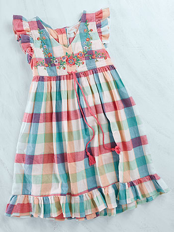 Macaroon Girls Dress
