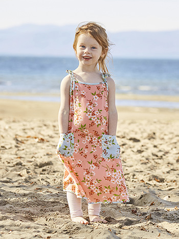 Peach Blossom Girls Dress