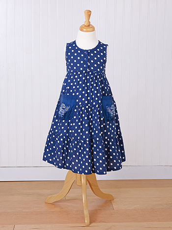 Betty Dots Girls Dress