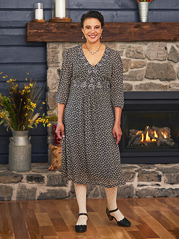Winifred Embroidered Dress