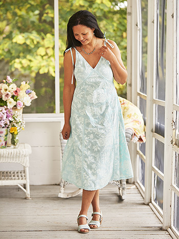 Aquamarine Party Dress