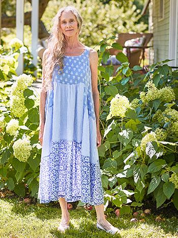 Margaux Patchwork Dress