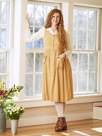 Fall Forget Me Not Pinafore Dress