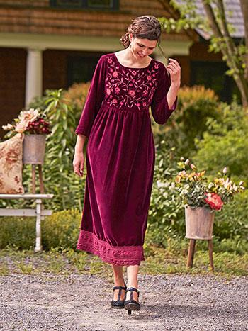 Francesca Velvet Dress