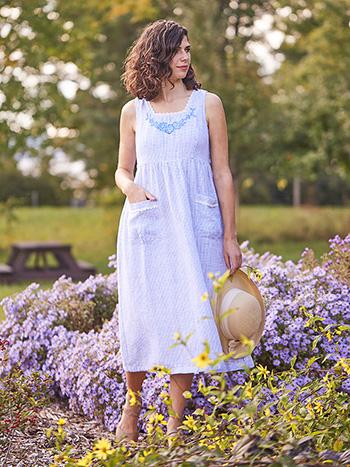 Cape Cod Linen Dress