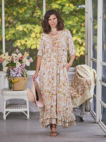 Orchid Study Prairie Dress