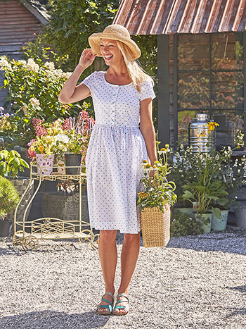 Lucy Dot Porch Dress