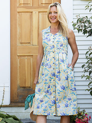 Greta's Garden Porch Dress
