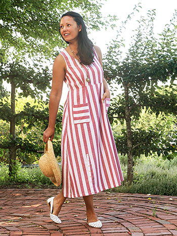 Nantucket Stripe Dress