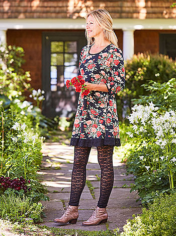 Rose Manor Tunic Dress