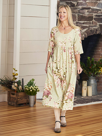 Carolina Jacquard Dress