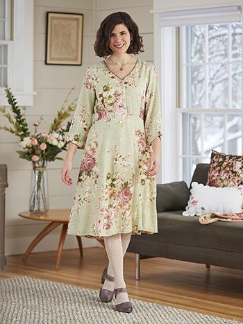 Carolina Jacquard Tea Dress