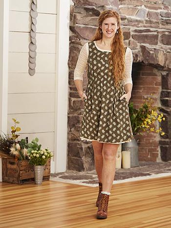 Emma Corduroy Short Dress