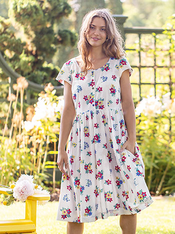 Prairie Floral Porch Dress
