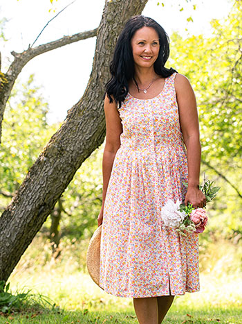 Sweetheart Porch Dress