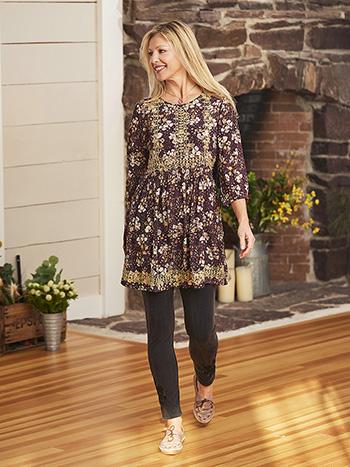 Kensington Embroidered Short Dress