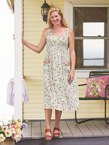 Springtime Porch Dress