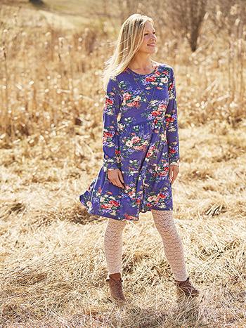 Francesca Jersey Dress