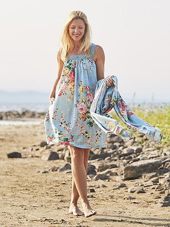 Cottage Rose Short Dress