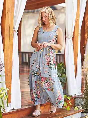 Cottage Rose Dress