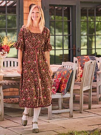 Michaela Velvet Dress