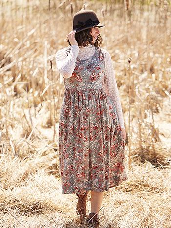Laura Pinafore Dress
