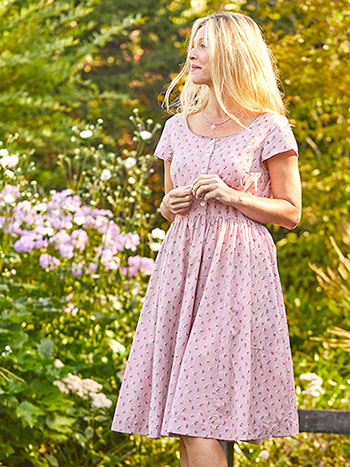 Honey Flower Porch Dress