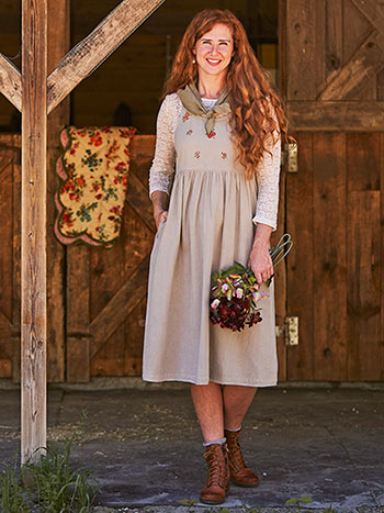 Hallie Pinafore Dress