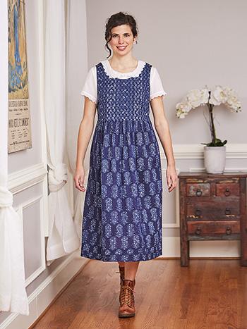 Indigo Farmgirl Dress