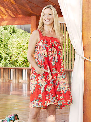 Tropics Short Dress