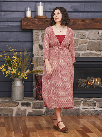 Winterberry Drawstring Dress