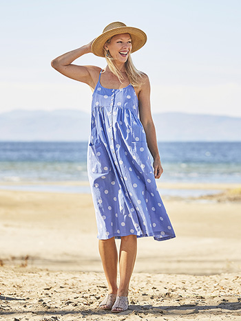 Provence Dot Sundress