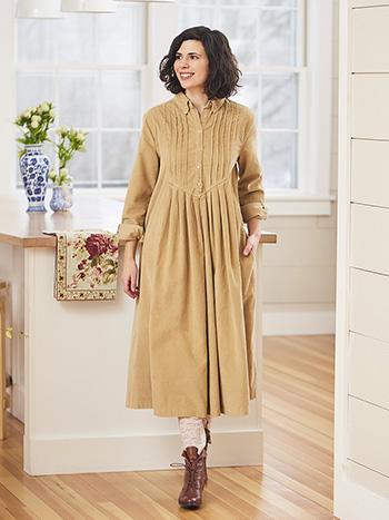 Market Corduroy Dress