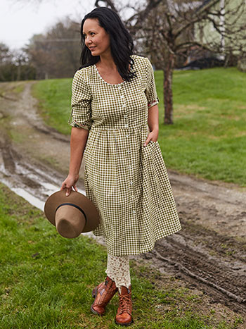 Country Check Dress