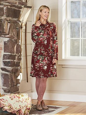 Carolina Jersey Tunic Dress