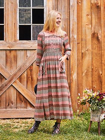 Rosewood Check Dress