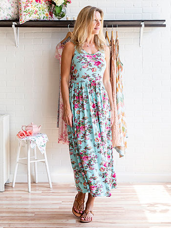 California Rose Dress